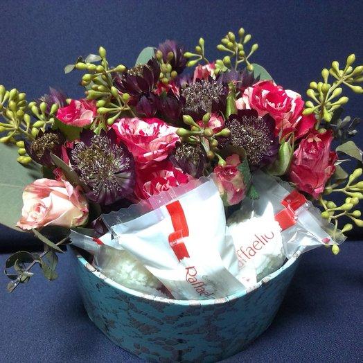 Коробочка 212: букеты цветов на заказ Flowwow