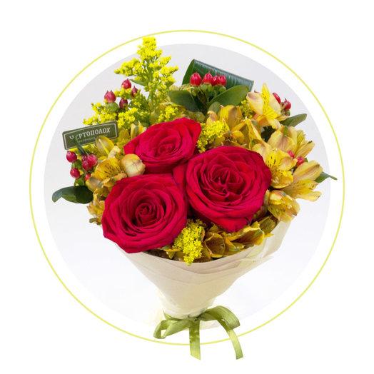 Букет для хорошего настроения: букеты цветов на заказ Flowwow