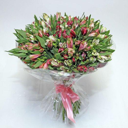 Букет из Альстромерии 51: букеты цветов на заказ Flowwow