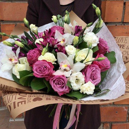 Пурпурная Нежность: букеты цветов на заказ Flowwow