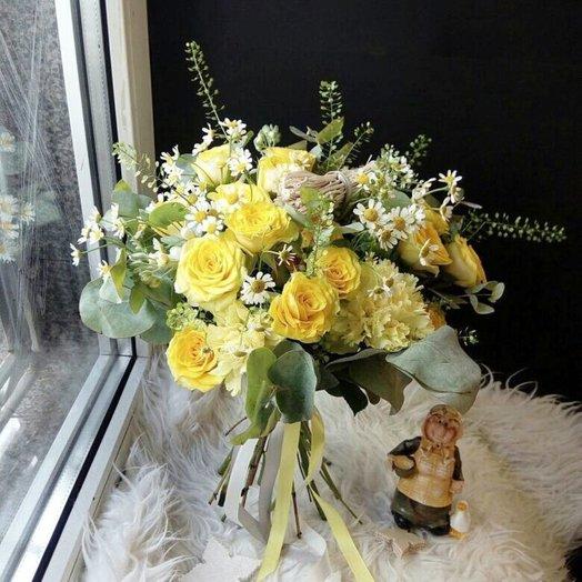 Букет летнее поле: букеты цветов на заказ Flowwow