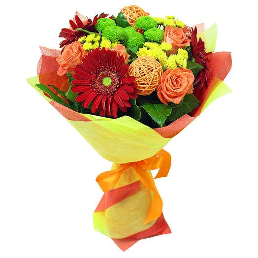 Букет Оранжевое Небо: букеты цветов на заказ Flowwow