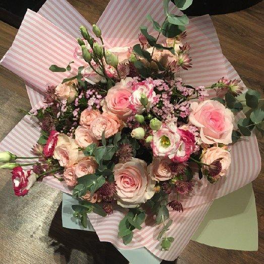 Нежная карамель: букеты цветов на заказ Flowwow