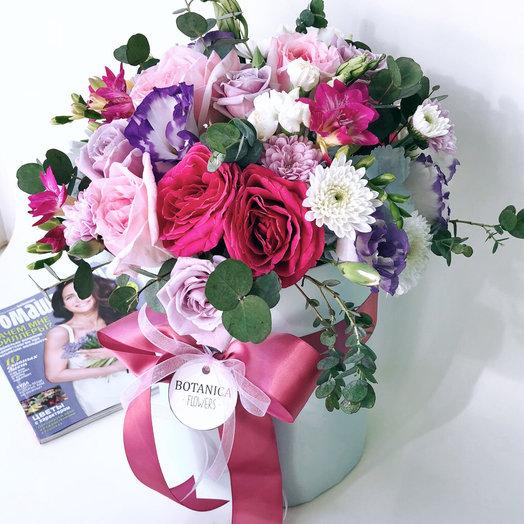 Авторская коробка: букеты цветов на заказ Flowwow