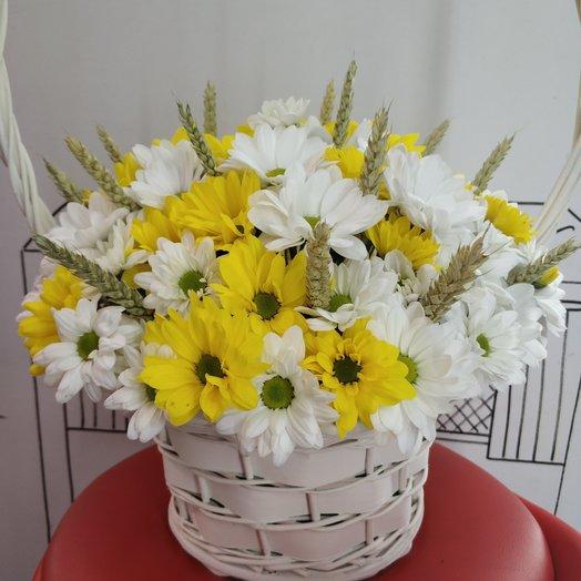Корзина лета: букеты цветов на заказ Flowwow