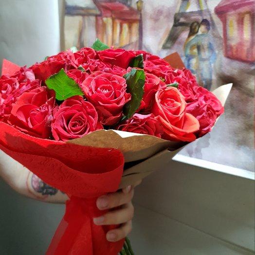 Элегантная Эль Торо. Роза роскоши от Floristic World: букеты цветов на заказ Flowwow