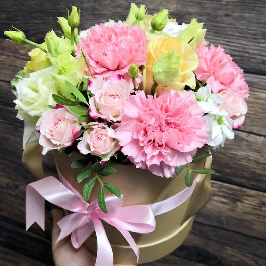 Воздушная карамель: букеты цветов на заказ Flowwow
