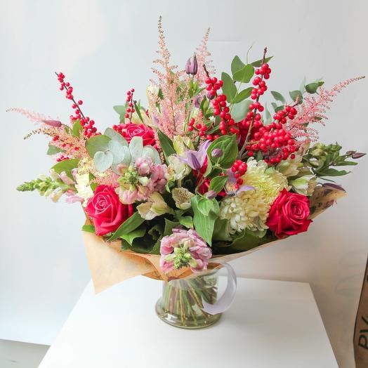 Снегири: букеты цветов на заказ Flowwow