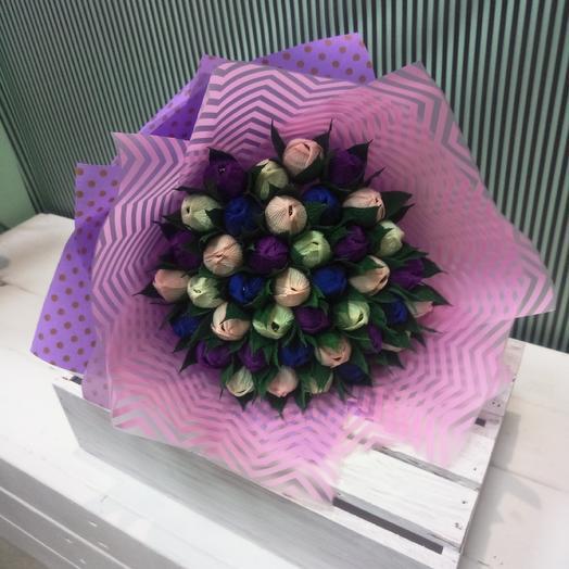 Тюльпаны для сладкоежки: букеты цветов на заказ Flowwow