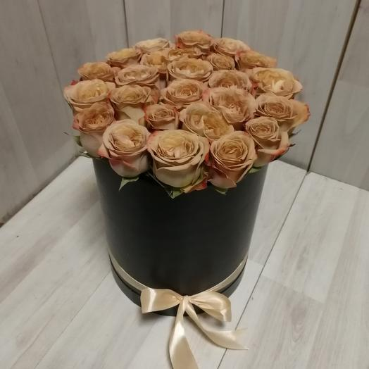 Розы капучино: букеты цветов на заказ Flowwow