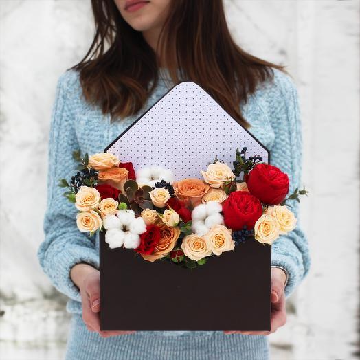 Бокс 03: букеты цветов на заказ Flowwow