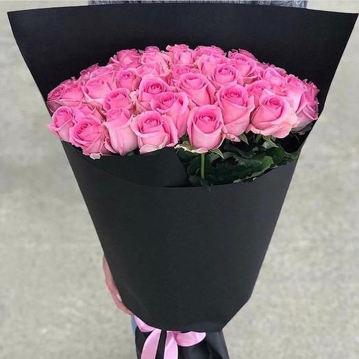 Стильный розовый: букеты цветов на заказ Flowwow