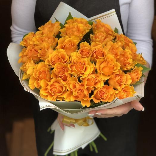 Пламенные чувства: букеты цветов на заказ Flowwow