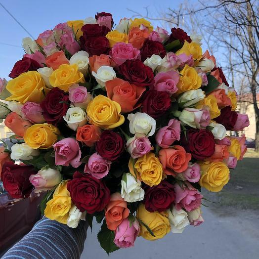 101 rose: flowers to order Flowwow