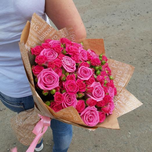Пинк Флэш Z30: букеты цветов на заказ Flowwow