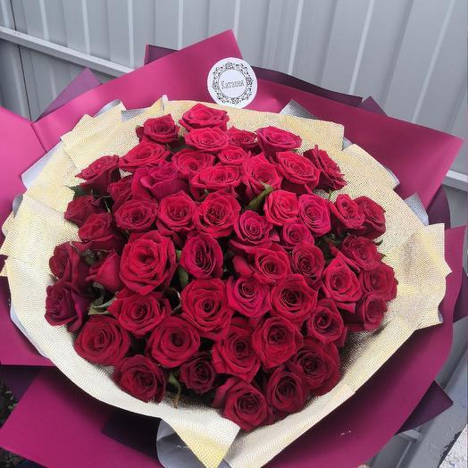 51 роза импортная