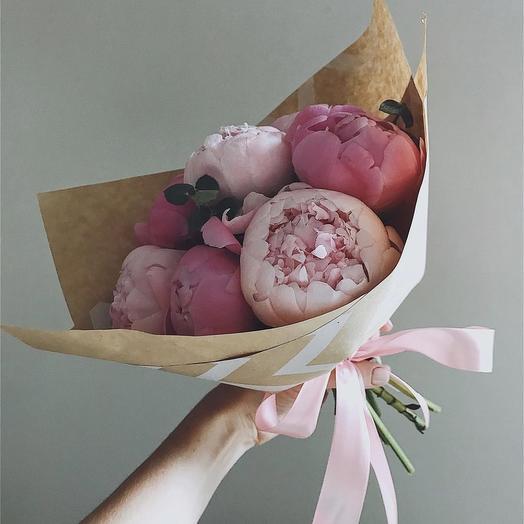 Крафтовое чудо: букеты цветов на заказ Flowwow