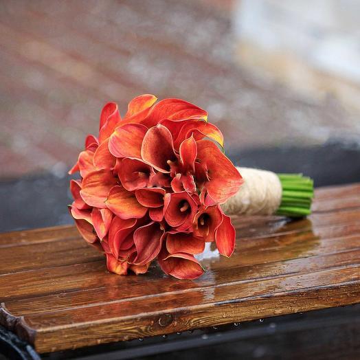 """Букет невесты """"29 Калл"""": букеты цветов на заказ Flowwow"""
