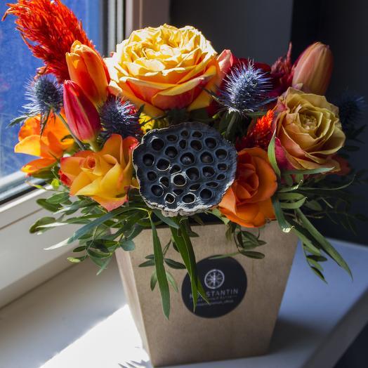 Сочная летняя композиция: букеты цветов на заказ Flowwow