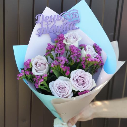 Букет к 1 сентября: букеты цветов на заказ Flowwow