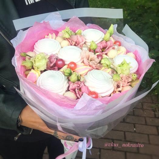 Букет сладкий «зефирная»: букеты цветов на заказ Flowwow