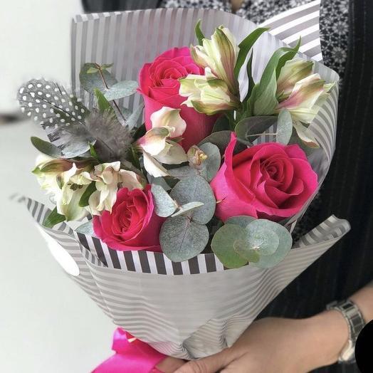 Букет «Синтия»: букеты цветов на заказ Flowwow