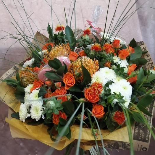 Любовь морковь: букеты цветов на заказ Flowwow