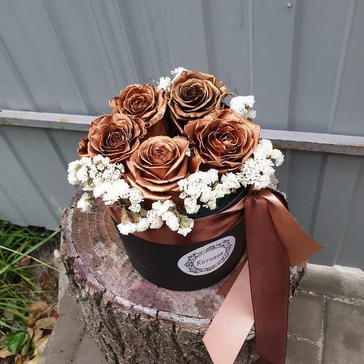 Стабилизированные розы: букеты цветов на заказ Flowwow
