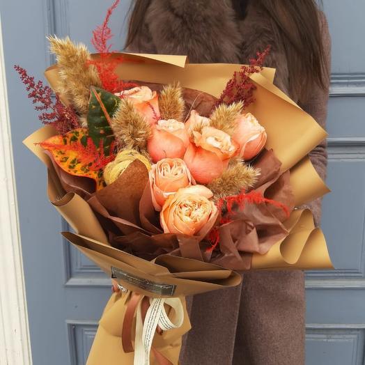 Нюдовый: букеты цветов на заказ Flowwow