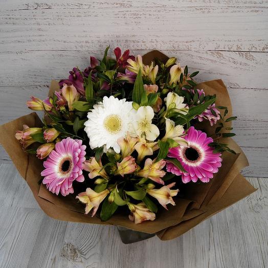 """Букет """"Воздушная акварель"""": букеты цветов на заказ Flowwow"""