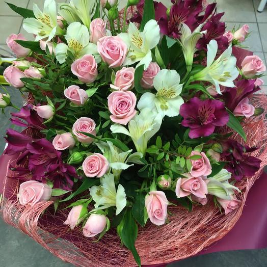 Осенняя альстра: букеты цветов на заказ Flowwow