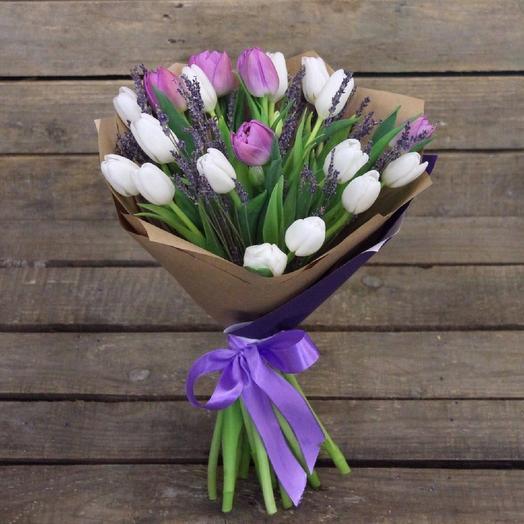 Мартовское утро: букеты цветов на заказ Flowwow