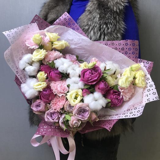 Нежные объятия: букеты цветов на заказ Flowwow