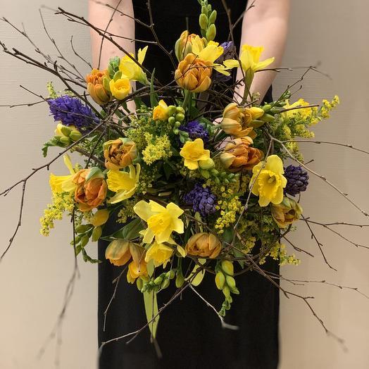 Букет «Пробуждение Весны»: букеты цветов на заказ Flowwow