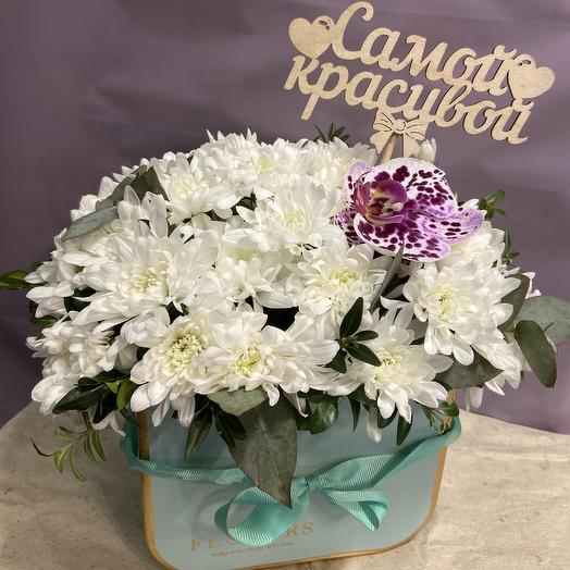 Нежный комплимент: букеты цветов на заказ Flowwow