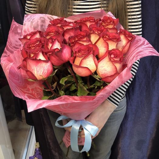 Букет закат: букеты цветов на заказ Flowwow