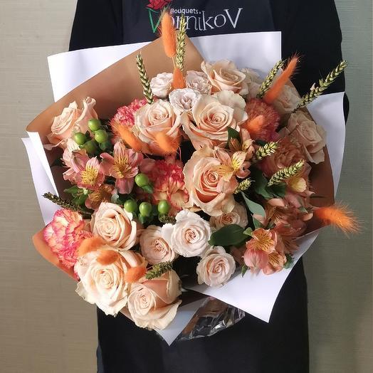 Золотые слова: букеты цветов на заказ Flowwow