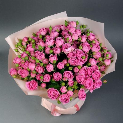 """Букет цветов """"Розовый дождь"""""""