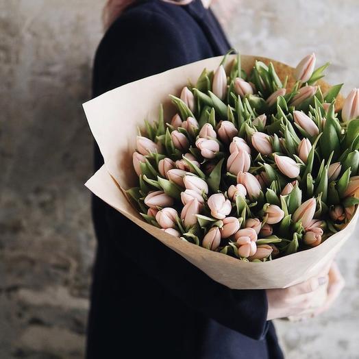 """Букет тюльпанов """"нежность """""""