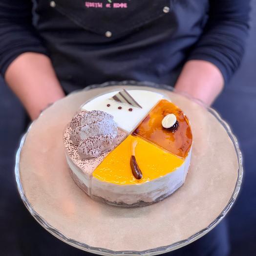 Торт «шоколадное ассорти»