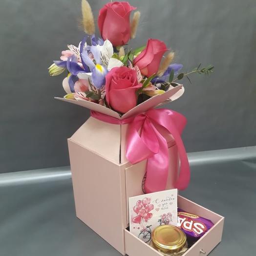 Композиция сюрприз: букеты цветов на заказ Flowwow
