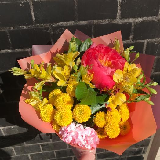 Яркие ноты: букеты цветов на заказ Flowwow