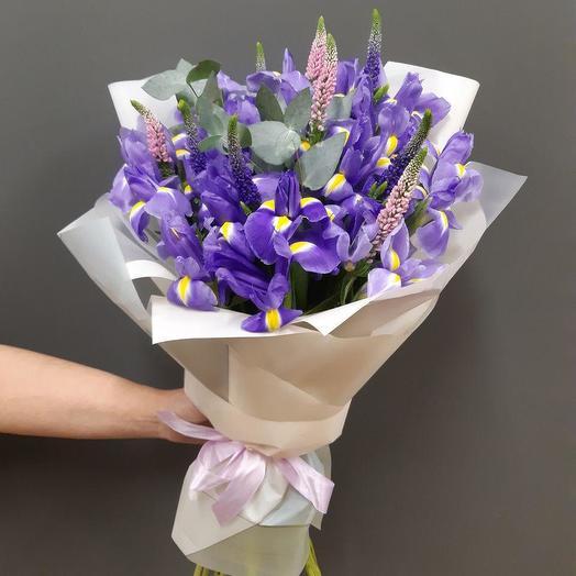 Фиолетовый бриз (Букет 252)