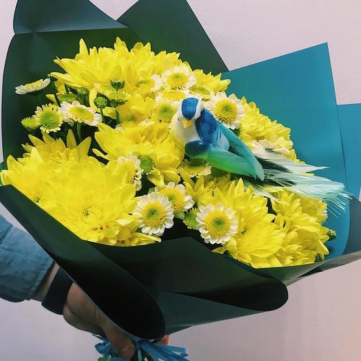 Синичка в желтом