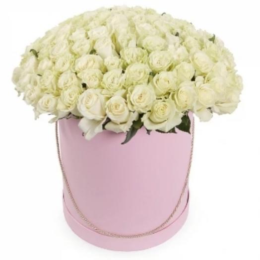 Цветы в коробке 51шт