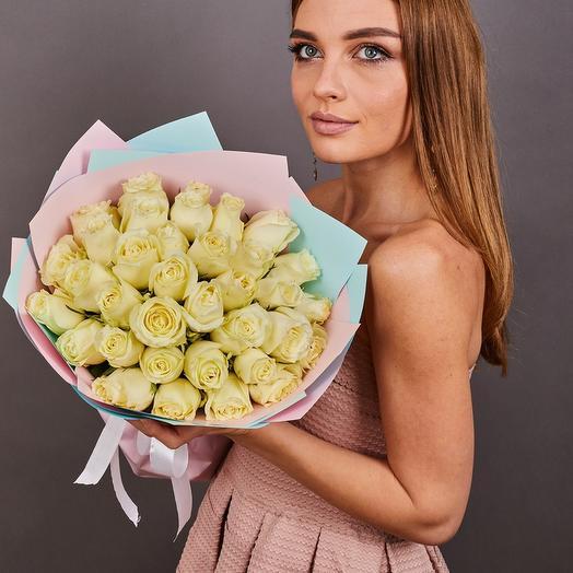 35 роз премиум