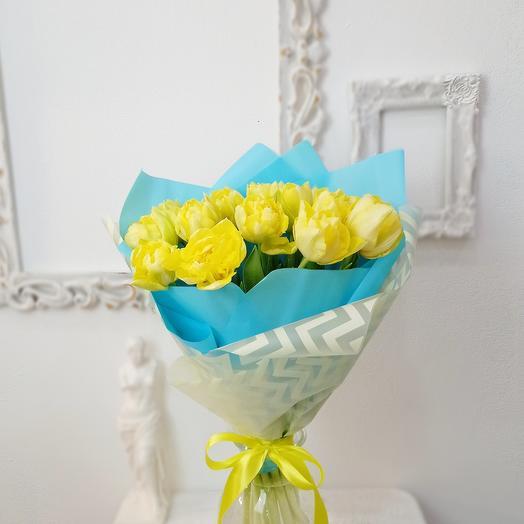 15 пионовидный тюльпанов