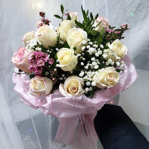 "Букет ""Неженка"" 11 роз"
