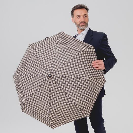 Складной зонтик в 3  сложения 102150