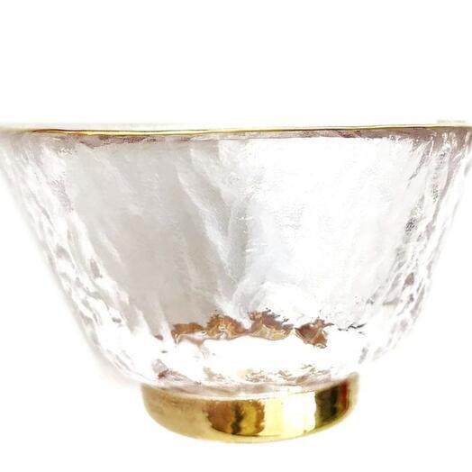 пиала, золотая кайма, стекло, 50 мл 1 шт